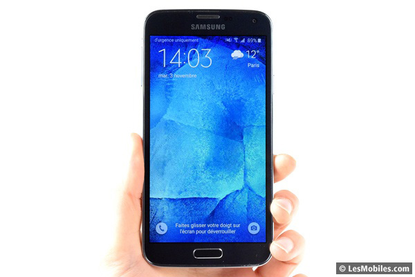 Samsung Galaxy S5 New prise en main