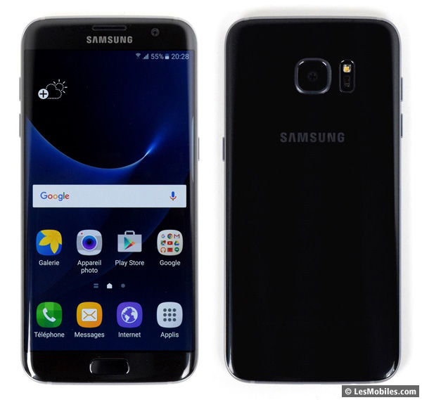 Samsung Galaxy S7 Edge prise en main