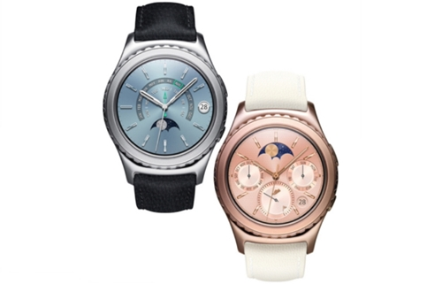 Samsung Gear S2 Classic Platine et Or Rose