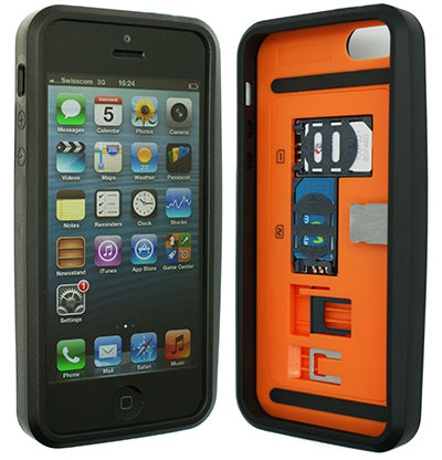 coque iphone 5 double coque