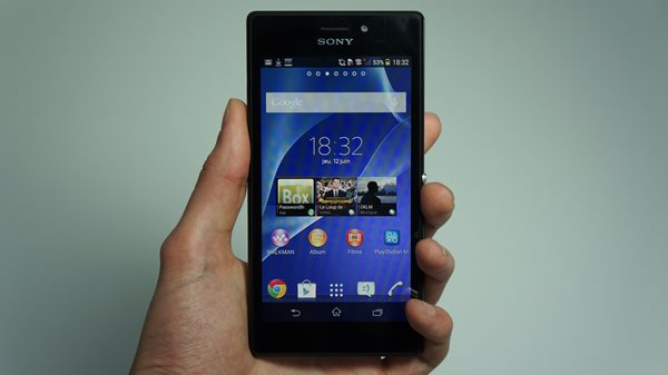 xperia e appareil photo