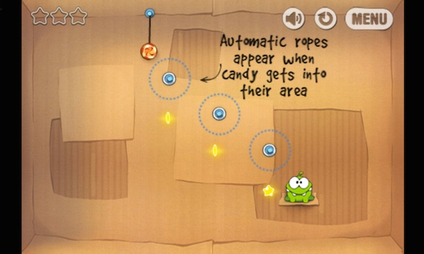 ZTE Open C Cut the Rope