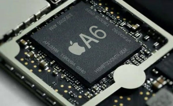 Test iPhone 5 : chipset Apple A6