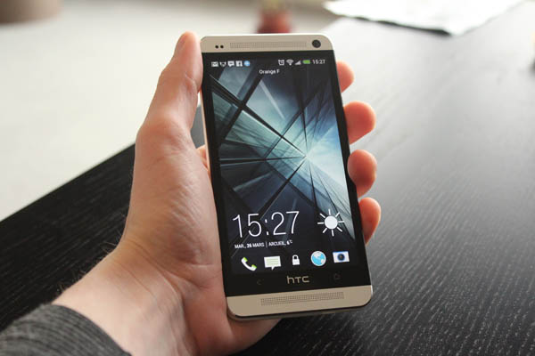 HTC One : prise en main