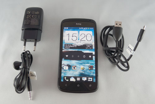 Test HTC One S : contenu du pack