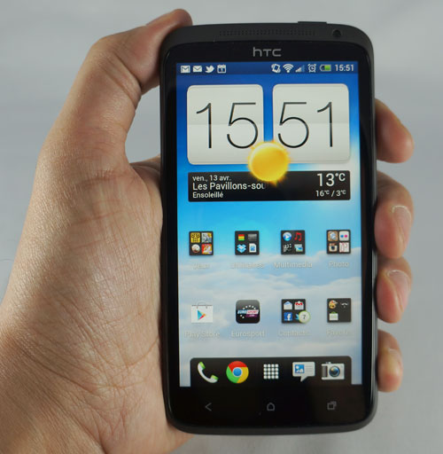 HTC One X : prise en main