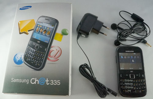 Samsung Ch@t 335 : pack