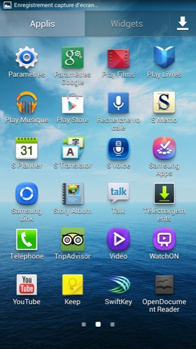 Samsung Galaxy Mega 6.3 applications