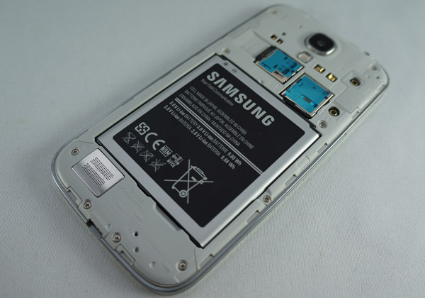 Samsung Galaxy S4 : batterie