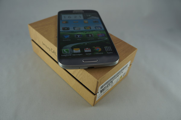 Samsung Galaxy S4 : packaging