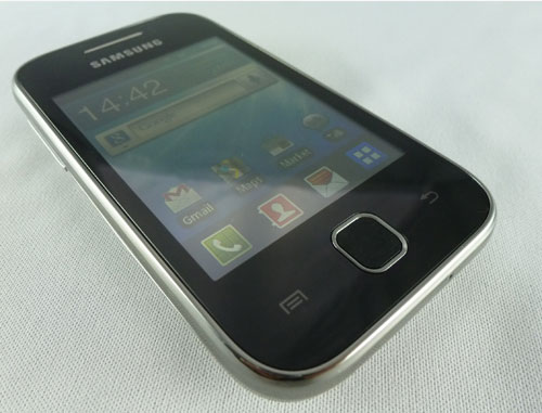 test samsung galaxy Y Android 2.3  Gingerbread Free Mobile