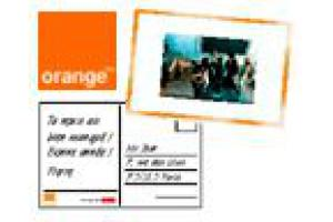 Orange : service de carte postale MMS