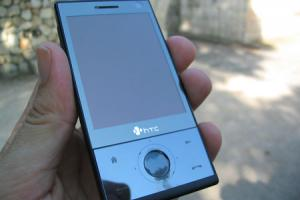 Test : HTC Touch Diamond