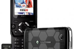 Sony Ericsson F305 FIFA 2009 chez Virgin Mobile