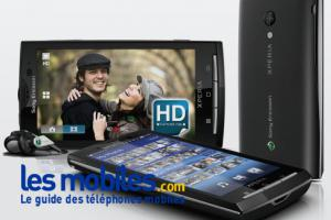 Sony Ericsson Xperia X10 HD (Android 2.1)