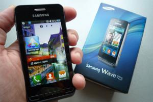 Test : Samsung Wave 723