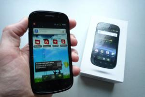 Test : Google Nexus S