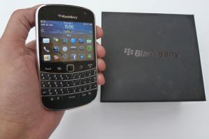 Test : BlackBerry Bold 9900