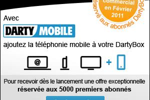 Darty se lance dans le mobile et le quadruple play (officiel)