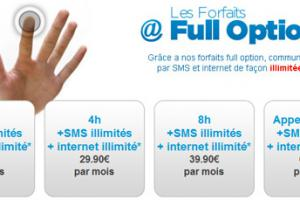 SIM+ lance ses forfaits Full Option