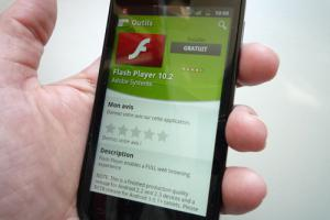 Flash Player 10.2 est arrivé sur Android Market