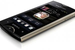 Sony Ericsson dévoile le Xperia ray (Android 2.3)