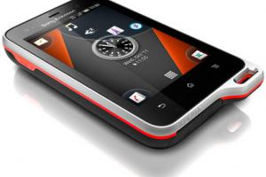 Sony Ericsson Xperia active (Android 2.3) : le smartphone ultra-résistant