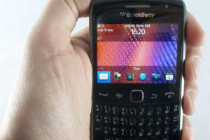 Test : BlackBerry Curve 9360