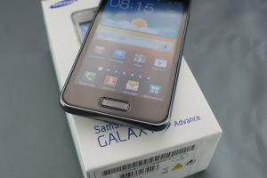 Test : Samsung Galaxy S Advance