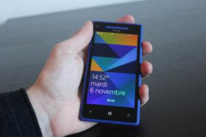 Test : HTC Windows Phone 8X