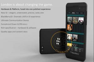 Une nouvelle image pour le BlackBerry London sous BlackBerry 10