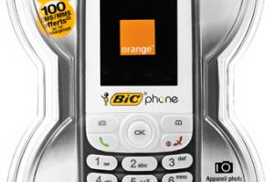 Orange lance la quatrième version du BIC phone