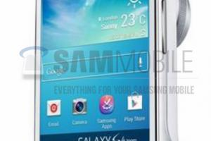 Le Samsung Galaxy S4 Zoom se dévoile en photo