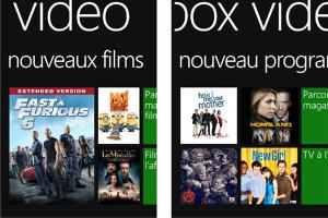 Xbox Video et Xbox Music arrivent sur Windows Phone 8