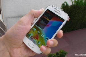 Test : Samsung Galaxy Trend