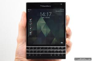 Test du BlackBerry Passport : de retour en classe affaires !