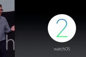 WatchOS 2 : les applications directement dans l'Apple Watch (WWDC 2015)