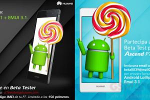 Huawei Ascend P7 : Android Lollipop entre en bêta publique