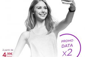 Virgin Mobile double la data sur tous les forfaits