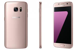 Samsung lance des versions Pink Gold des Galaxy S7