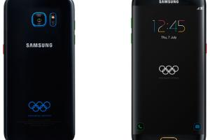 Samsung présente la version J.O. du Galaxy S7 Edge