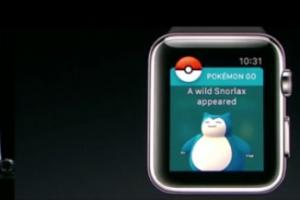 Pokemon Go : bientôt une application pour l'Apple Watch