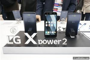 Le LG X Power 2 est disponible