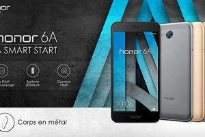 Le Honor 6A est disponible