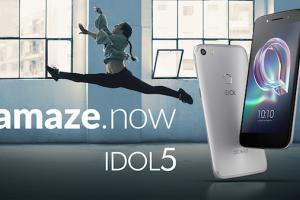 L'Alcatel Idol 5 est disponible