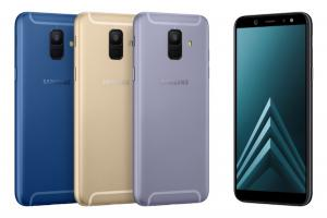 Samsung officialise les Galaxy A6 et Galaxy A6+