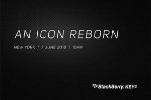 BlackBerry KEY2 : il sera officialisé le 7 juin