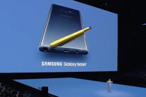 Samsung dévoile son Galaxy Note 9