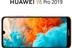 Huawei officialise le Y6 Pro (2019)