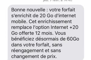 Orange offre plus de data 4G sur ses forfaits mobile et Open version Play sans augmenter leur prix